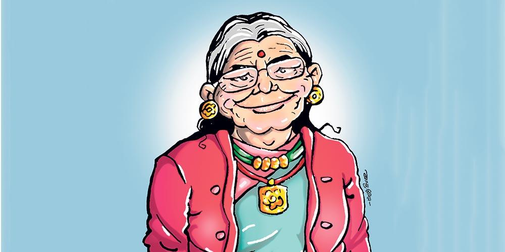 घरमै बसेर ९६ वर्षीया वृद्धाले जितिन् कोरोना