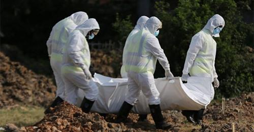 कोरोना संक्रमणबाट एकै दिन २१४ जनाको मृत्यु, ९,२४७ जनामा संक्रमण