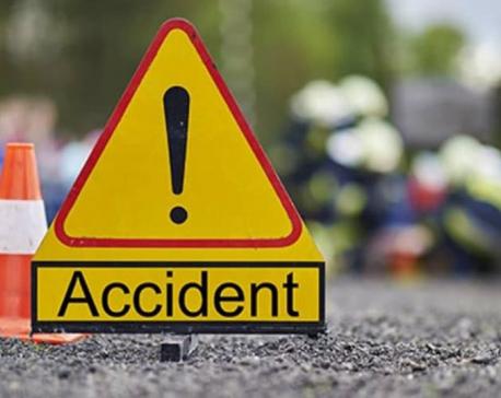 एस मोडमा मिनी ट्रक दुर्घटना , २ जनाको   मुत्यु