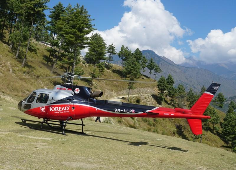 सिम्रिक एयरको सुर्खेतबाट हेलिकप्टर सेवा शुरु,
